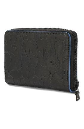 Мужской кожаный футляр для монет BAPE черного цвета, арт. 1F70182200 | Фото 2