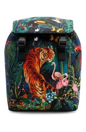 Мужской рюкзак palermo tecnico DOLCE & GABBANA зеленого цвета, арт. BM1756/AX533 | Фото 1