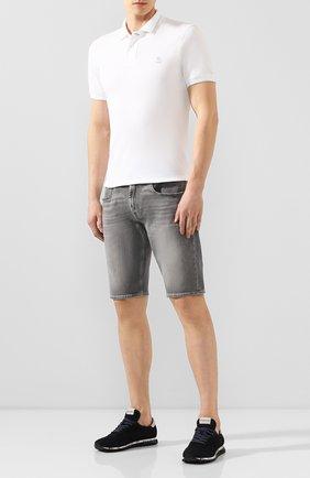Мужские джинсовые шорты 7 FOR ALL MANKIND серого цвета, арт. JSZ2B070HG | Фото 2