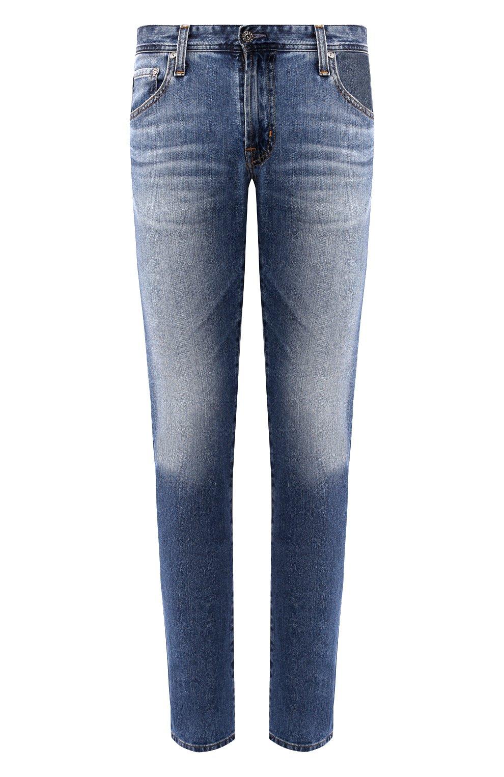 Мужские джинсы AG синего цвета, арт. 1783LED/RGSR   Фото 1