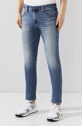 Мужские джинсы AG синего цвета, арт. 1783LED/RGSR   Фото 3