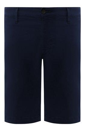 Мужские хлопковые шорты AG темно-синего цвета, арт. 1185SUB/MBER | Фото 1
