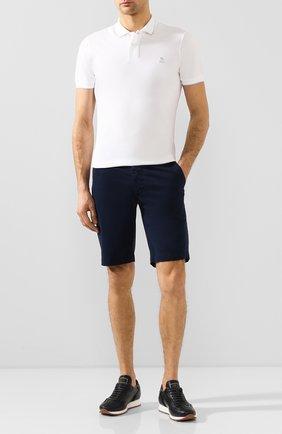 Мужские хлопковые шорты AG темно-синего цвета, арт. 1185SUB/MBER | Фото 2