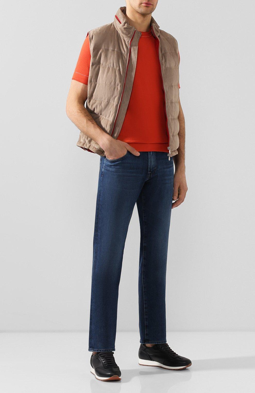 Мужские джинсы AG синего цвета, арт. 1174FXD/WSTB   Фото 2