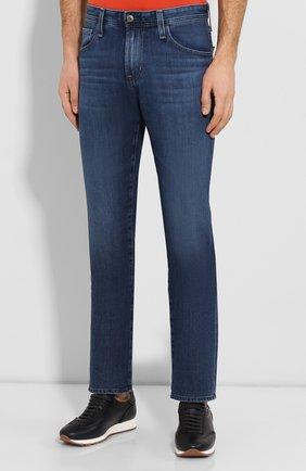 Мужские джинсы AG синего цвета, арт. 1174FXD/WSTB   Фото 3