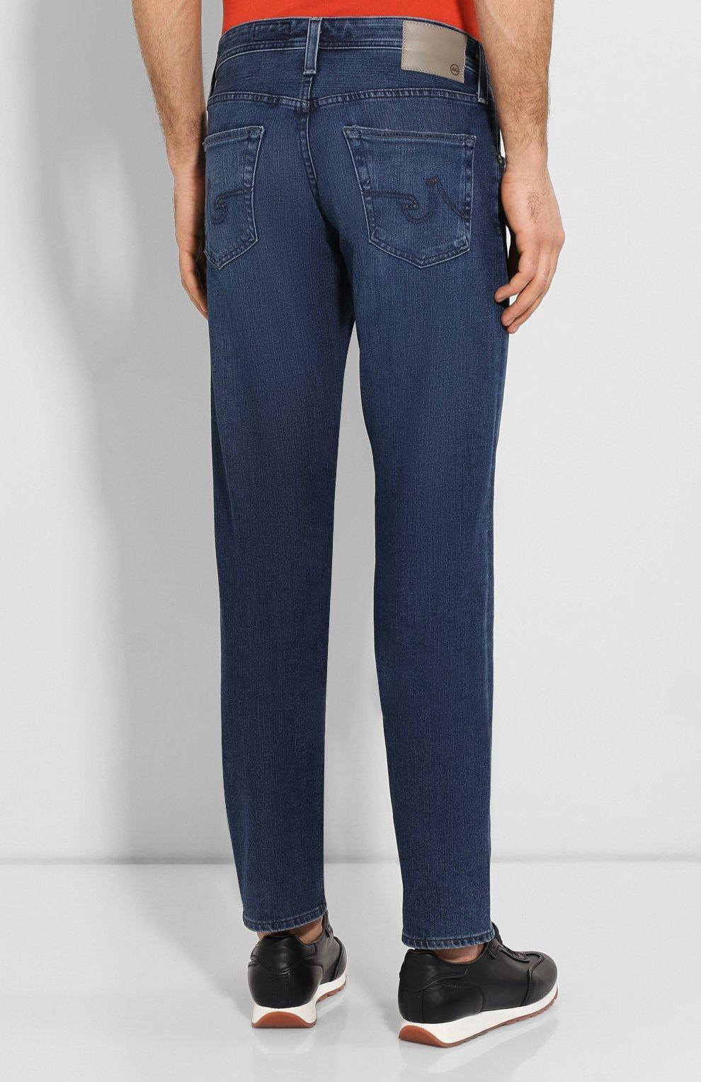 Мужские джинсы AG синего цвета, арт. 1174FXD/WSTB   Фото 4
