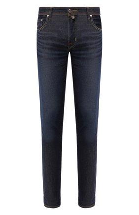 Мужские джинсы JACOB COHEN темно-синего цвета, арт. J688 LIMITED C0MF 01859-W2/53   Фото 1