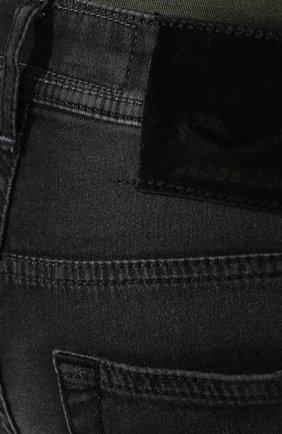 Мужские джинсы JACOB COHEN черного цвета, арт. J688 C0MF 01841-W1/53   Фото 5