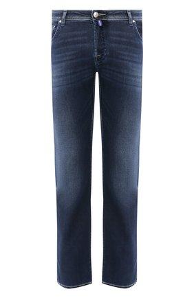 Мужские джинсы JACOB COHEN синего цвета, арт. J620 C0MF 00973-W3/53 | Фото 1