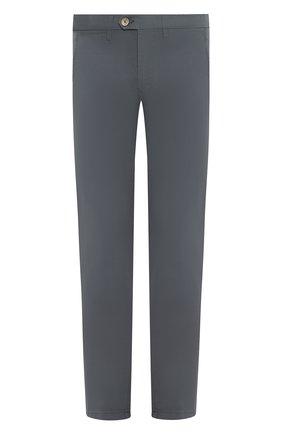 Мужской хлопковые брюки CORNELIANI зеленого цвета, арт. 854ER1-0120168/00 | Фото 1