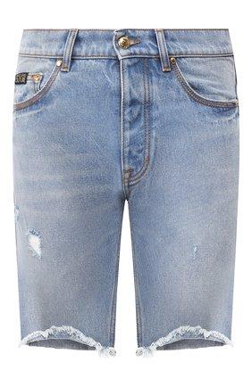Мужские джинсовые шорты VERSACE JEANS COUTURE синего цвета, арт. A4GVB17I-VUM507/A0K5Z | Фото 1