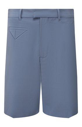Мужские шорты BOTTEGA VENETA голубого цвета, арт. 621802/VKJ60 | Фото 1