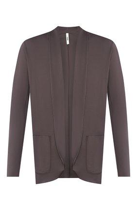 Мужской хлопковый пиджак KAZUYUKI KUMAGAI темно-серого цвета, арт. AJ01-227 | Фото 1