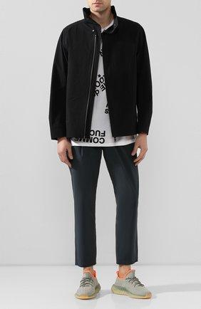 Мужская куртка KAZUYUKI KUMAGAI черного цвета, арт. AB01-212 | Фото 2