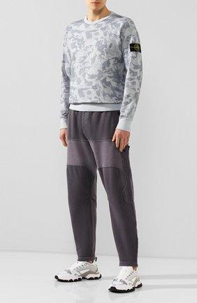 Мужской хлопковые брюки STONE ISLAND SHADOW PROJECT серого цвета, арт. 721930407 | Фото 2