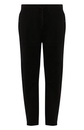 Мужской хлопковые брюки STONE ISLAND SHADOW PROJECT черного цвета, арт. 721930407 | Фото 1