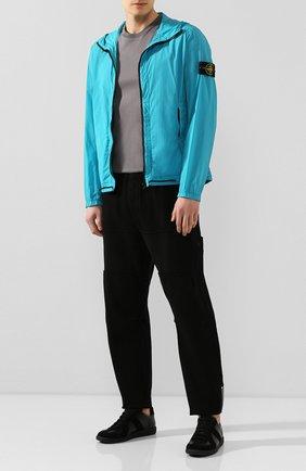Мужской хлопковые брюки STONE ISLAND SHADOW PROJECT черного цвета, арт. 721930407 | Фото 2