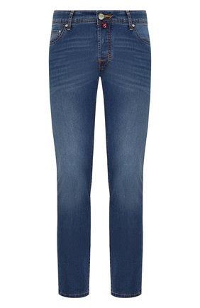 Мужские джинсы JACOB COHEN синего цвета, арт. J688 C0MF 01843-W2/53 | Фото 1