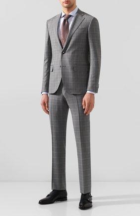 Мужской шерстяной костюм CORNELIANI серого цвета, арт. 857268-0117097/92 Q1   Фото 1