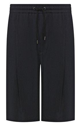 Мужские шорты GIORGIO ARMANI темно-синего цвета, арт. 9SGPB003/T00AB | Фото 1
