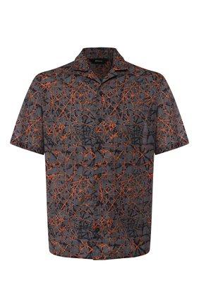 Мужская хлопковая рубашка Z ZEGNA разноцветного цвета, арт. 705166/ZC0B2 | Фото 1
