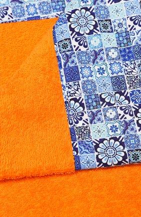 Мужские хлопковое полотенце KITON оранжевого цвета, арт. UTLM02X08S16 | Фото 2