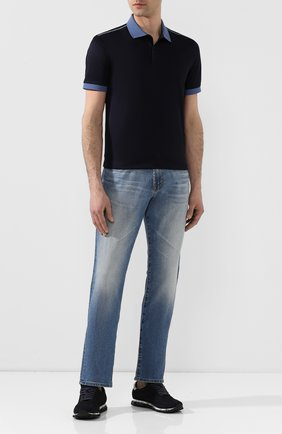 Мужские джинсы AG синего цвета, арт. 1174LED/RGSR | Фото 2