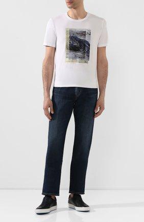 Мужские джинсы AG синего цвета, арт. 1174LED/GRAN | Фото 2