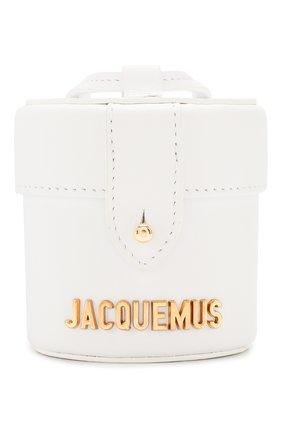 Женская сумка le vanity JACQUEMUS белого цвета, арт. 201AC16/58100 | Фото 1