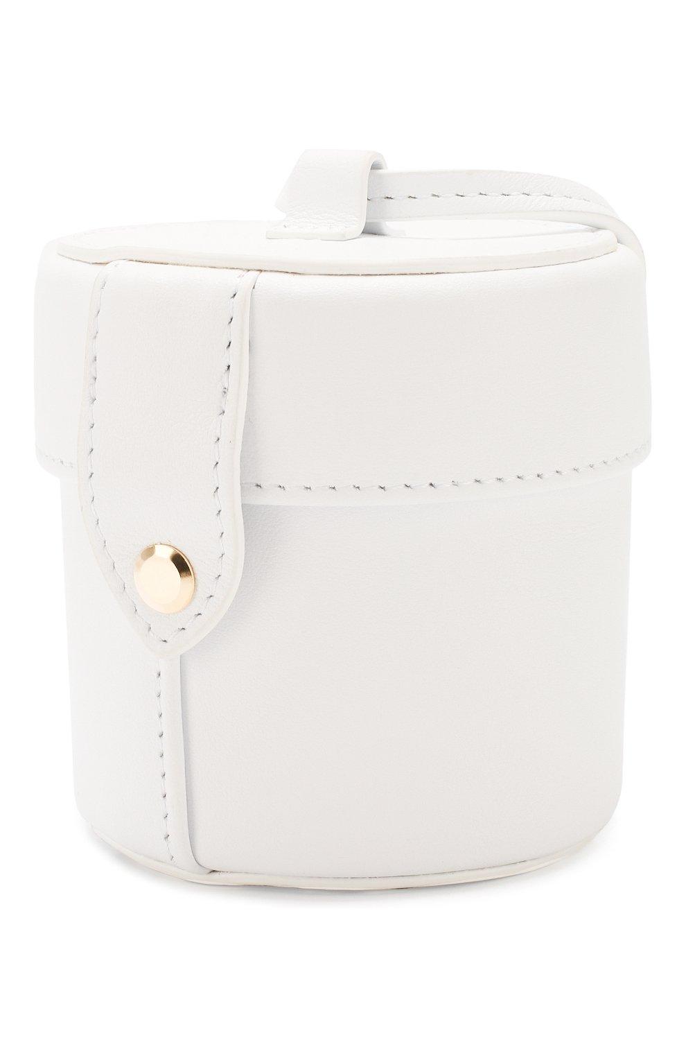 Женская сумка le vanity JACQUEMUS белого цвета, арт. 201AC16/58100 | Фото 3