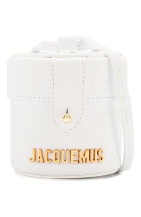 Женская сумка le vanity JACQUEMUS белого цвета, арт. 201AC16/58100 | Фото 5