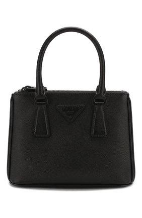 Женская сумка galleria PRADA черного цвета, арт. 1BA906-WNZV-F0ES9-DOO | Фото 1