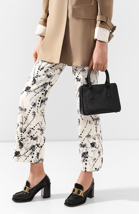 Женская сумка galleria PRADA черного цвета, арт. 1BA906-WNZV-F0ES9-DOO | Фото 2