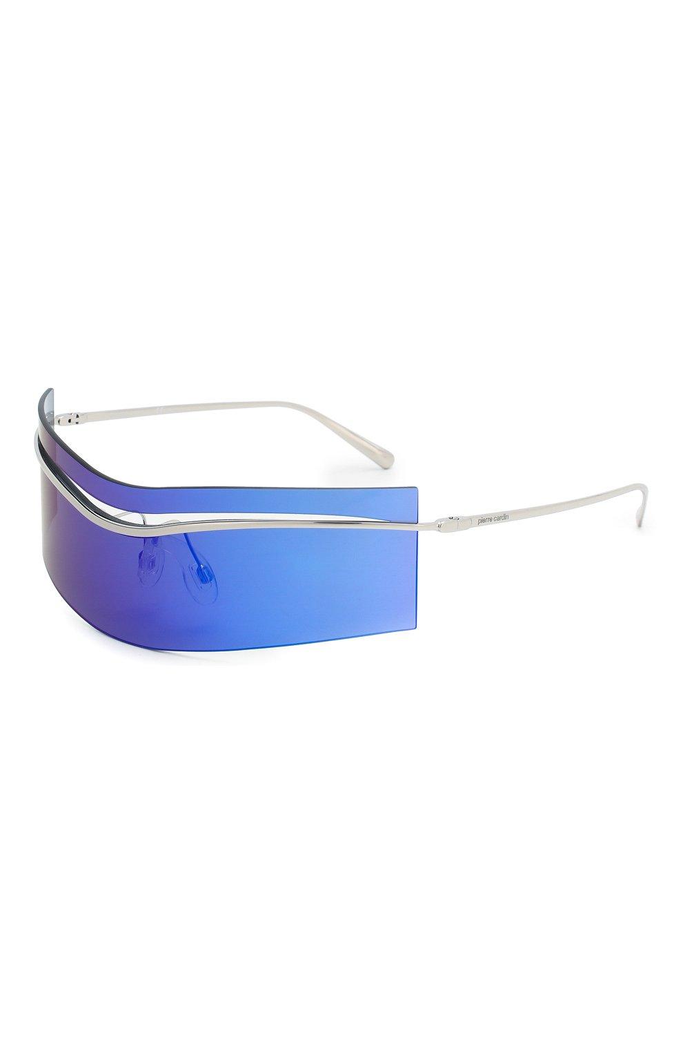 Женские солнцезащитные очки PIERRE CARDIN синего цвета, арт. EV0LUTI0N 7 010 | Фото 1