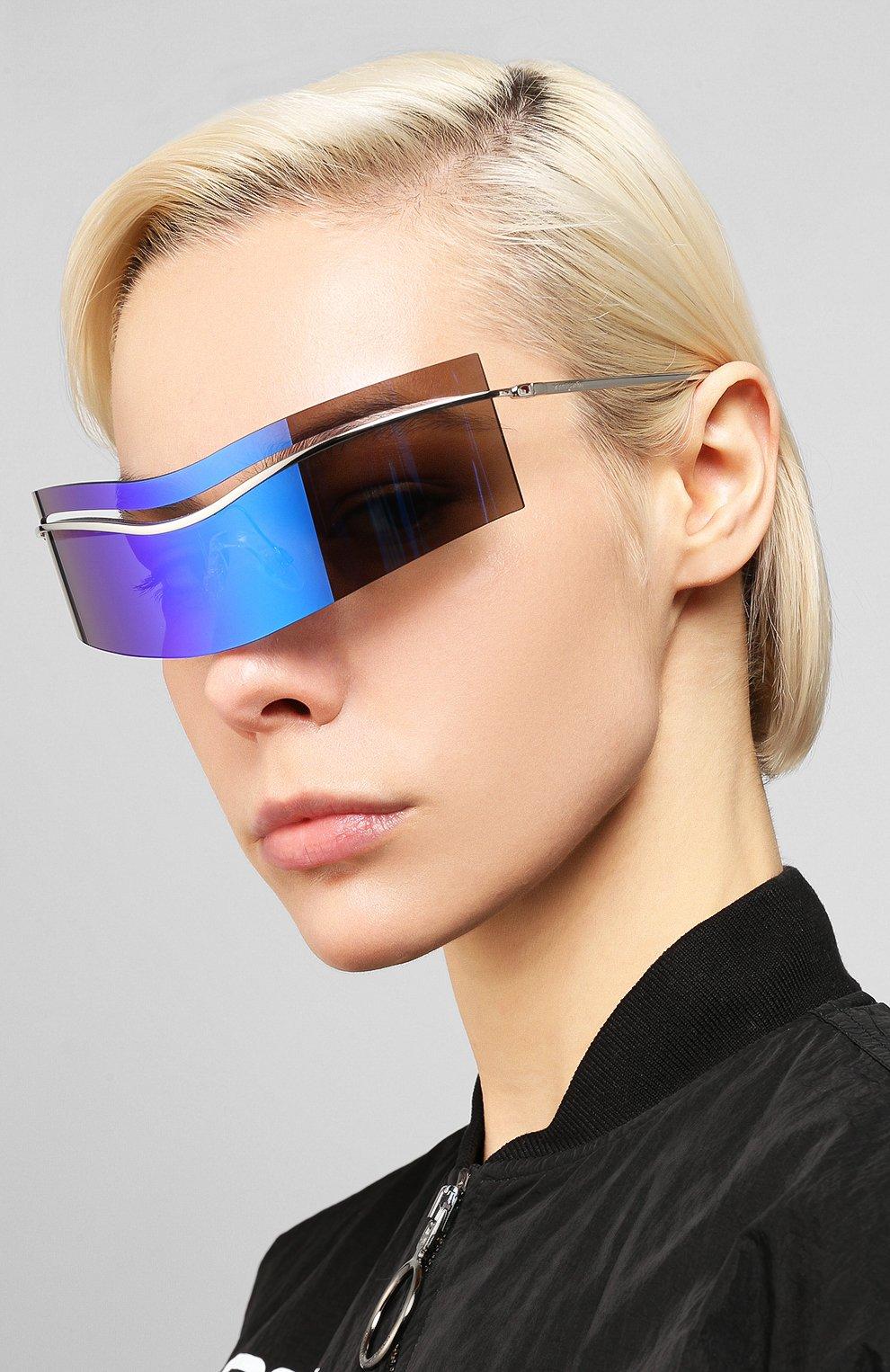 Женские солнцезащитные очки PIERRE CARDIN синего цвета, арт. EV0LUTI0N 7 010 | Фото 2