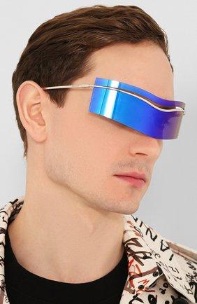 Женские солнцезащитные очки PIERRE CARDIN синего цвета, арт. EV0LUTI0N 7 010 | Фото 3