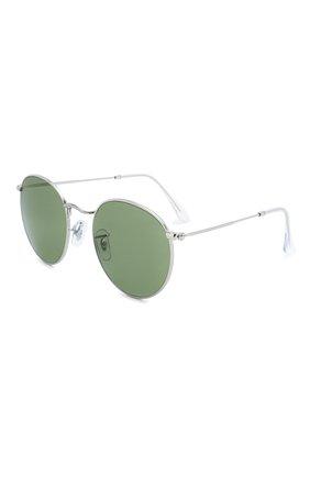 Женские солнцезащитные очки RAY-BAN зеленого цвета, арт. 3447-91984E | Фото 1