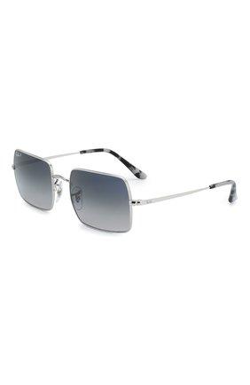 Женские солнцезащитные очки RAY-BAN серебряного цвета, арт. 1969-914978   Фото 1