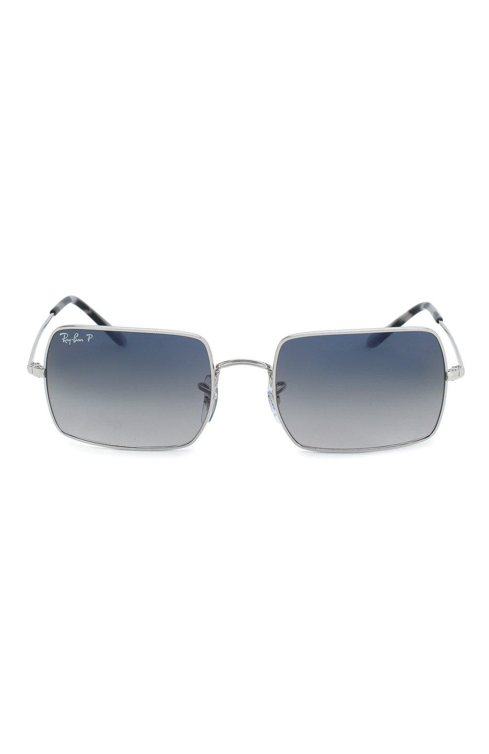 Женские солнцезащитные очки RAY-BAN серебряного цвета, арт. 1969-914978   Фото 4