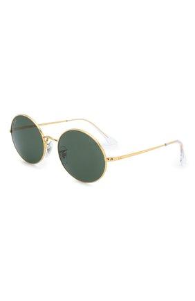 Женские солнцезащитные очки RAY-BAN черного цвета, арт. 1970-919631   Фото 1