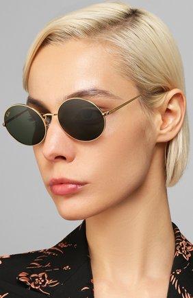 Женские солнцезащитные очки RAY-BAN черного цвета, арт. 1970-919631   Фото 2