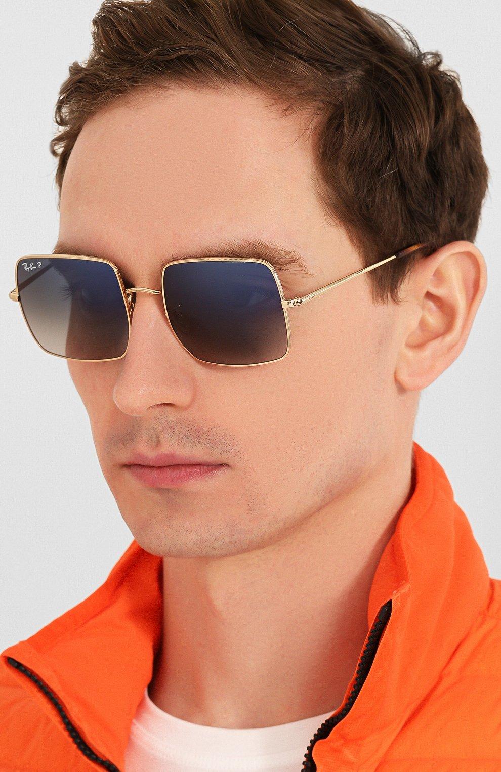 Женские солнцезащитные очки RAY-BAN темно-синего цвета, арт. 1971-914778 | Фото 3