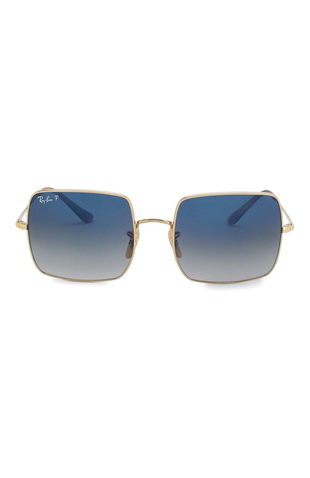 Женские солнцезащитные очки RAY-BAN темно-синего цвета, арт. 1971-914778 | Фото 4