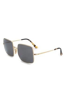 Женские солнцезащитные очки RAY-BAN черного цвета, арт. 1971-9150B1 | Фото 1