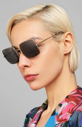 Женские солнцезащитные очки RAY-BAN черного цвета, арт. 1971-9150B1 | Фото 2