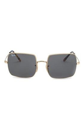 Женские солнцезащитные очки RAY-BAN черного цвета, арт. 1971-9150B1 | Фото 4