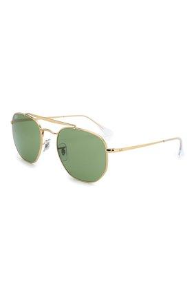 Мужские солнцезащитные очки RAY-BAN зеленого цвета, арт. 3648-001/4E   Фото 1