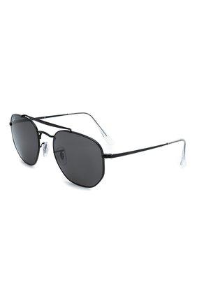 Мужские солнцезащитные очки RAY-BAN черного цвета, арт. 3648-002/B1   Фото 1