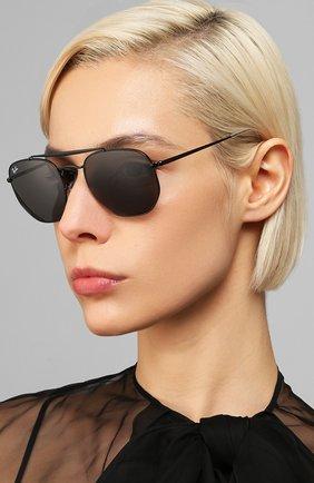 Мужские солнцезащитные очки RAY-BAN черного цвета, арт. 3648-002/B1   Фото 2