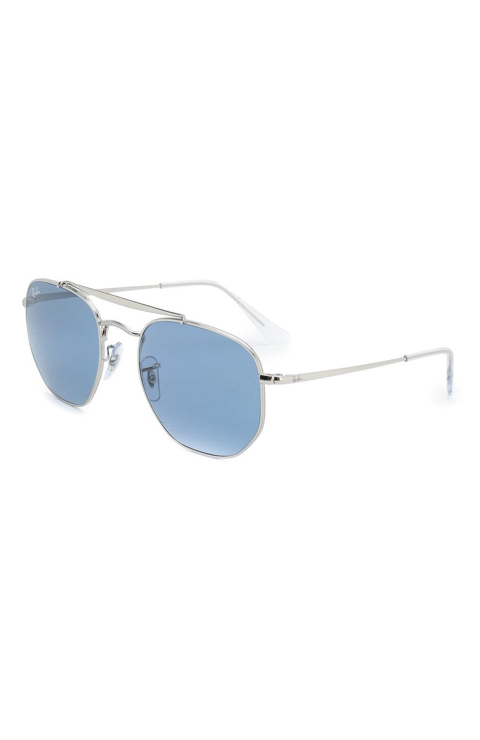 Женские солнцезащитные очки RAY-BAN голубого цвета, арт. 3648-003/56 | Фото 1